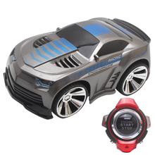 Mini RC Car 6CH Smart Watch Remote Control Voice Control Vehicles Toy Car for Children Kids Birthday Gift