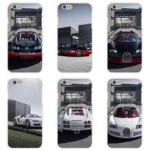 Soft TPU Silicon Covers For Apple iPhone 4 4S 5 5C SE 6 6S 7 7S Plus 4.7 5.5 New Car Bugatti Veyron