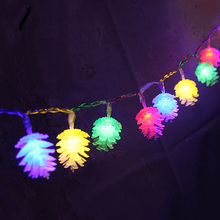 4M 20LED PineCone Shape Fairy String Lights Garland Christmas Wedding Holiday String Lights for Outdoor Indoor Xmas Party use