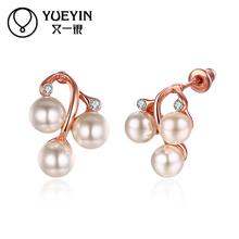 gold plating earrings for women long earrings crystal zircon jewelry gift oorbellen lose money Wholesale Retail
