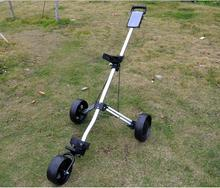 quality warranty hot sale special discount aluminum alloy golf trolley(China)