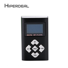 HIPERDEAL USB Mini MP3 Player LCD Screen Support 8GB Micro SD TF Card Protable Fashion Music Media Slick Stylish Design Sep5(China)