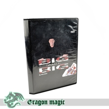 Big Small Big Eragon Close Up Penetration Free Shipping Magic Tricks Magia Magie Toys Retail And Wholesale(China)