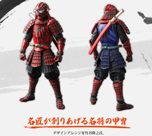 18cm Spiderman Figures moved doll Action Figure Toys Warrior modeling famous general Ninja warrior movable hand dolls best Gift
