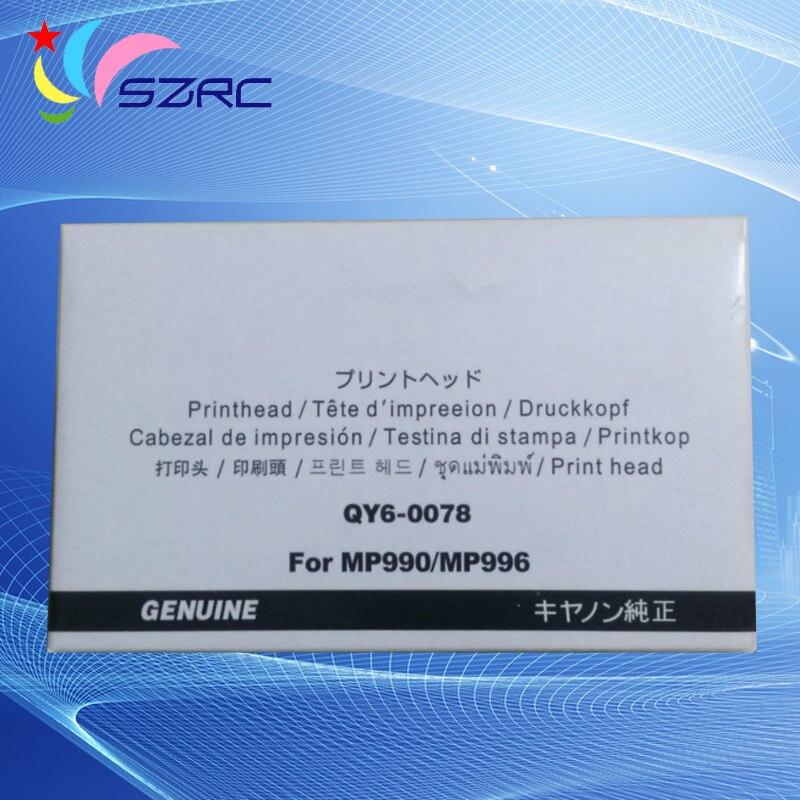 Original Print Head QY6-0078 Printhead For Canon MP990 MP996 MG6120 MG6140 MG6180 MG6280 MG8120 MG8180 MG8280 MG6250<br>