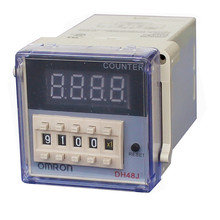 220VAC DH48J Digital Counter Relay with OMRON 4 bit Digital screen