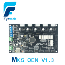Free Shipping 3D Printer Control Panel Board MKS Gen V1.3 RepRap Ramps1.4 rich Interfaces 3D Printer Accessories