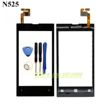 Original High Quality 4.0'' For Nokia Lumia 525 520 N525 Touch Screen Digitizer Sensor Front Glass Lens panel + tools