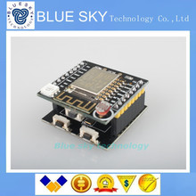 2PCS with Tracking Number and Free shipping)ESP8266 serial WIFI Witty cloud Development Board ESP-12F module