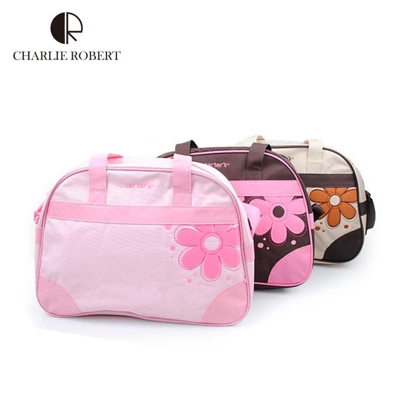British Brand Design large capacity Flower diaper bag baby bags for mom multifunctional maternity bag baby care handbag HK387<br><br>Aliexpress