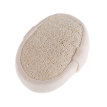 New Natural Loofah Bath Shower Body Washing Sponge Body Scrubber Exfoliator Pad Body Skin Bathing Massage(China)