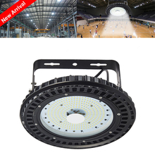 4PCS 100W UFO Industry Light Hall LED Lamp SMD 5730 220V 110V Mining High Bay Ceiling Lights Industrial Lighting For Gymnasium(China)