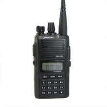 2pcs Black PUXING PX-888K dualband dual frequency UHF 400-480Mhz VHF 136-174MHz two way radio walkie talkie transceiver