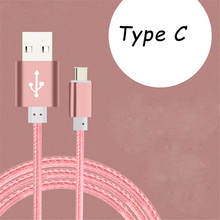 USB Type-C USB 3.0 to USB Type C Fast Charging & Sync Data Cable for OnePlus 2 Nexus 6P 5X ZUK Z1 Xiaomi 4c Z9 Max N1 MAC