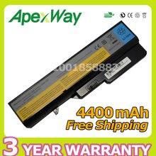 Apexway Battery Lenovo IdeaPad B470 B475 B570 Z370 Z570 Z565 Z470 V360 V370 V470 V570 Z460 Z560 57Y6454 57Y6455 L09S6Y02