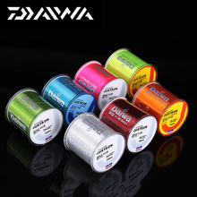 100% Original Daiwa 500m Nylon Fishing Line Japanese Durable Monofilament Rock Sea Fishing Line Super Strong Justron Carp & Matc