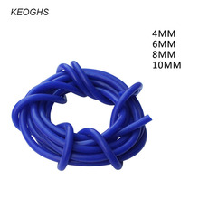 KEOGHS Car styling vacuum hose silicone hose engine air filter intake manifold connection pipe 4MM/6MM/8MM/10MM 1 meter