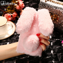 Buy AKABEILA Silicon Case Umi London Cases Rabbit Hair Bling Diamond Smartphone MT6580 Soft TPU Cute Anti-knock Cover for $5.80 in AliExpress store