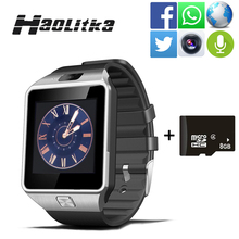 men Wearable Devices DZ09 Smart Watch Support SIM TF Card women sport Wrist Smartwatch For IOS Android smartphone with camera(China)