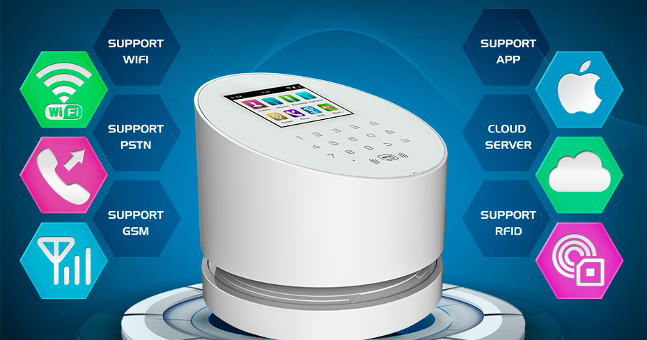 1 wifi alarm system