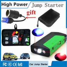 High Capacity 12V Petrol Diesel Car Jump Starter Portable Starting Device Power Bank 600A Car Charger For Car Battery Booster CE