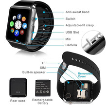 GT08 bluetooth smart watch SIM TF slot GSM watch phone Christmas gift wholesale price for regular customers