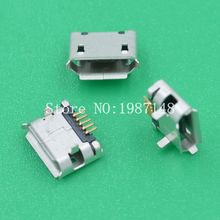 10Pcs A16 Micro USB 5pin DIP2 Female Connector For Mobile Phone Mini USB Charging Socket Curly Mouth High Quality Sell At A Loss