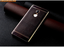 Colorful Printing Leather Look Silicone Gel TPU phone case For XiaoMi RedMi Note 2 3 4 3S Note2 Note3 Note4 thin back cover(China)