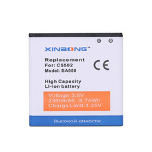 High Quality Battery For sony Xperia ZR SO-04E M36h C5502 C5503 BA950 AB-0300 battery(China)