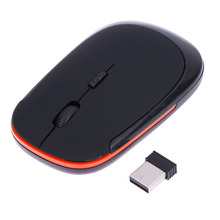 New U-Shaped Slim Wireless Mouse USB 2.4G Optical Mice 10M Working Distance Mouses for Laptop/Desktop Ergonomically design