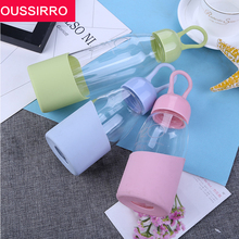 New Colourful Glass Creative Thermos Cup Sports Glass 300 ml(China)