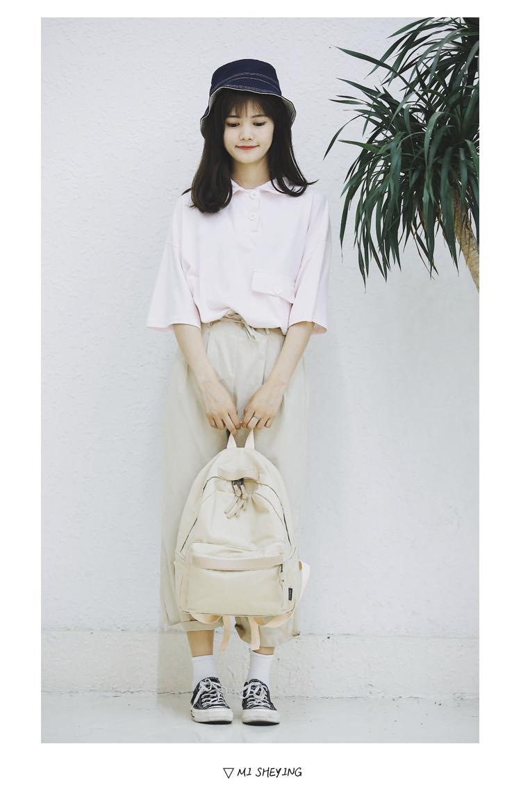 Menghuo High Quality Women Canvas Backpack Teenage Girls Leisure Backpack Bag Vintage Stylish Female School Bag Bookbag Mochilas (19)