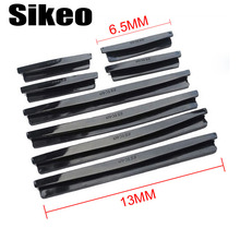 Sikeo 8Pcs/Set Strip Scratch Protector Auto Car Door Guard Edge Corner Bumper Guards Car Door Guards Trim Molding Protection