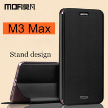 Meizu m3 max case MOFi original flip case Meizu m3 max cover silicon back hard coque fundas capa Meilan max case 6.0 inch(China)