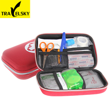 Kit de primeros auxilios portátil Car Home Travel Essentials Medipak Fuego kits de emergencia kit de supervivencia terremoto 2016 envío gratis