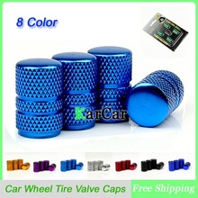 1Set Universal Aluminum Round Styling Style Auto Car Tyre Air Valve Caps, Motorcycle Bicycle Wheel Tire Valve Cap For Bike