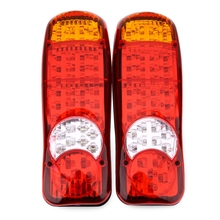 Multifunctional 1 Pair of 12V Trailer Car Truck Rear Tail Stop LED Signal Light More Than 50000 hours lifespan Vehicle LED Light