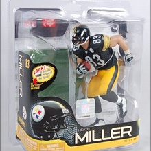 Animation Garage Kid Collection Kids Toys: JJIN Action Figure PVC Dolls NFL Football Player Heath Miller Model Best Gifts