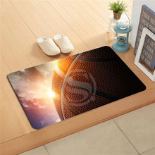#q309g Custom basketball Doormat Home Decor Door mat Floor Mat Bath Mats foot pad U-309gitt-718u