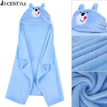 Buy Comfortable Baby Blanket Animal Cartoon Coral Fleece 3D Hooded Blanket Toddlers Infant Swaddling Newborns Bathrobe Towel for $6.86 in AliExpress store