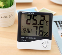 indoor digital barometer thermometer hygrometer/waterproof outdoor temperature humidity meter with temperature unit C or F