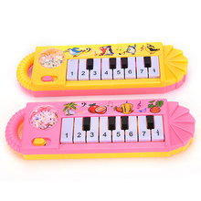 1 PCS 0-7age Baby Infant Musical Piano Developmental Toy Toddler Kids Early Educational Musical Instrument(China)