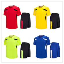 High Quality Men Plain Soccer Uniforms Cheap Private Training Jerseys 2017 Thailand football jerseys kids sets LD-5007(China)