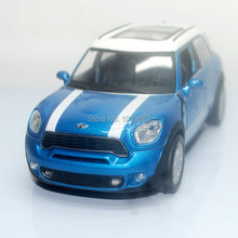 Brand New 1/28 Scale Car Model Toys Mini Cooper Diecast Metal Flashing Musical Pull Back Car Toy For Gift/Collection/Kids