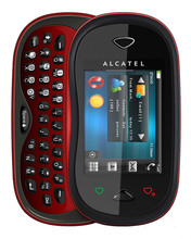 Original Alcatel OT-880A GSM Feature Phone 2.4 Inches 2MP Back Camera Video Audio FM Radio TF Card 850mAh Battery QWERTY keyboa
