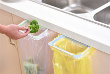 New Pattern Garbage Bag Holder Plastic Bracket Stand Rack Kitchen Trash Storage Hanger Escorredor De Prato Kitchen Organizer
