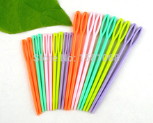 20PCs Mixed Multicolor Plastic Knitting Needles 1 Set 7cm 9.5cm