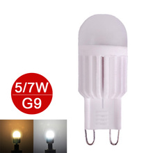 Mini G9 LED Lamp 5W 7W LED G9 Light 220V LED Bulb High Power Chandelier Lampada LED Lamps Dimmable Replace Halogen 6pcs/lot