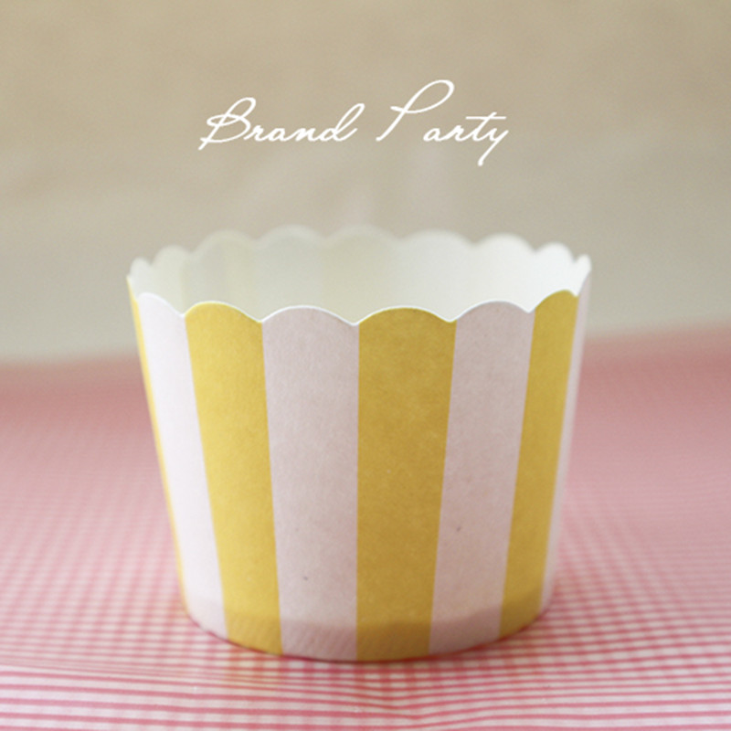 Standard Cupcake Papers with Designs - Candyland Crafts