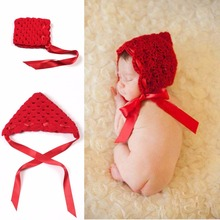 Kint red Hats Manual Weave cap wedding or christening gift Holiday gift(China)